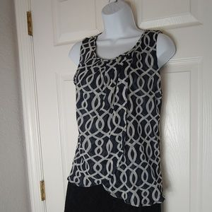New York & Company sleeveless blouse